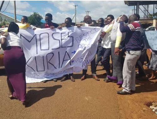 Business paralysed in Gatundu as residents protest Kuria's arrest