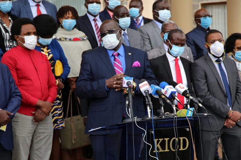Schools unlikely to reopen in September says Magoha - KBC ...