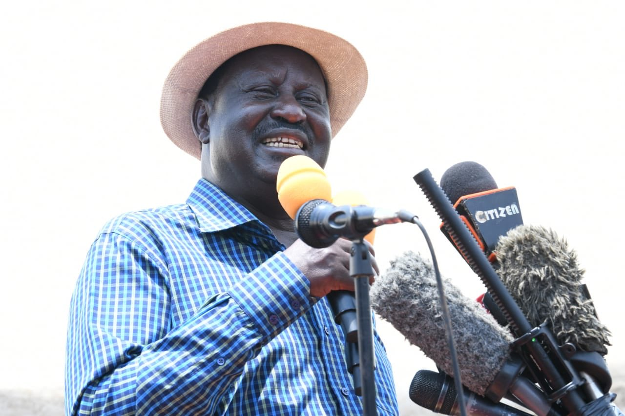 Raila: Actualization of BBI not driven by selfish motives – KBC