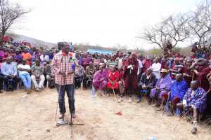 Mudavadi calls on the Maa community to support his 2022 bid
