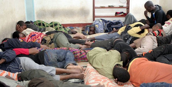 DCI rescues 16 aliens being trafficked along Marsabit-Isiolo Highway