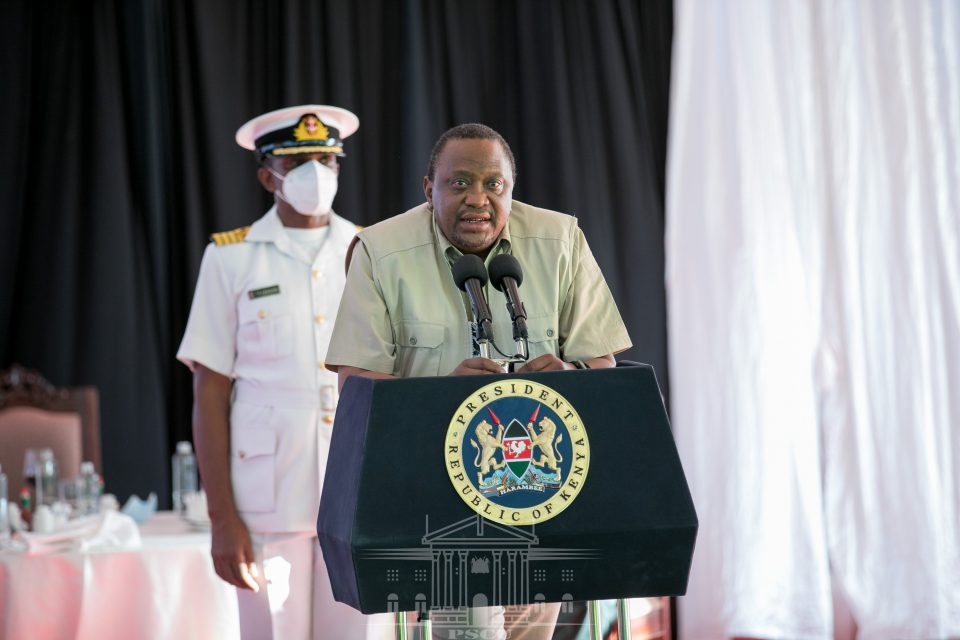 Uhuru commends youth for developing local solutions through innovation