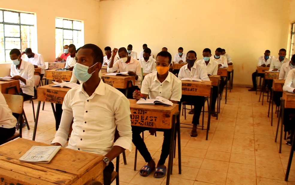 70% of the students in Mandera Secondary School resume learning