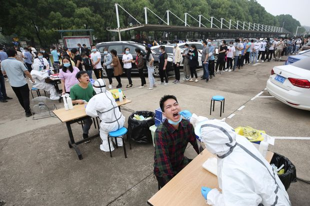 COVID-19: China to test nine million for coronavirus in five days