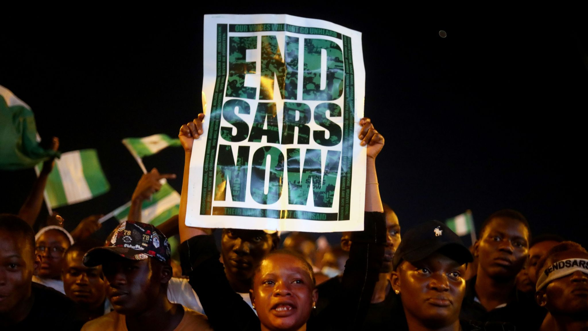 End Sars: Nigerian police open fire on protesters – KBC